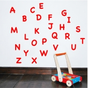 Alphabet Wall Sticker Uppercase