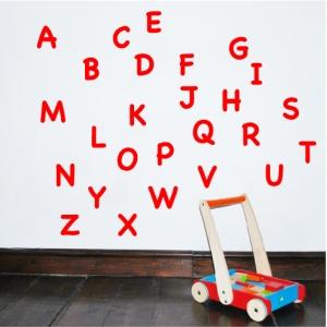 Alphabet Wall Sticker Uppercase