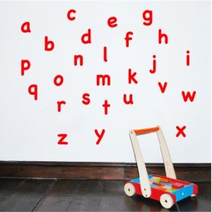 Alphabet Wall Sticker Lowercase