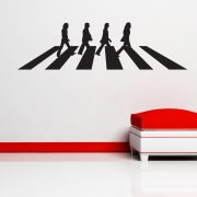 The Beatles Abbey Road Wall Sticker