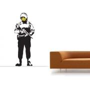 Acid Soldier Banksy Decals