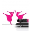 Ballet Dancers Wall Stickers - Kids
