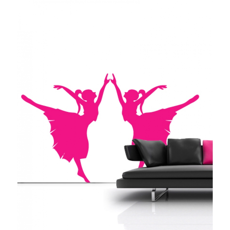 ballet wall stickers ballerina wall stickers ballet positions reusable wall sticker decal for baby
