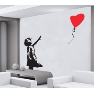 Banksy Balloon Girl - There Is Hope