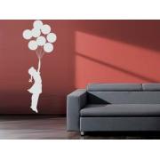 Banksy Floating Balloon Girl