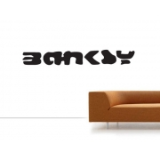 Banksy Tag Wall Decal