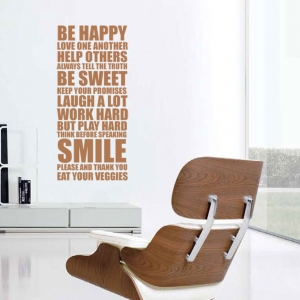 Be Happy - Family House Rules
