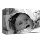 Black and White Photo On Canvas