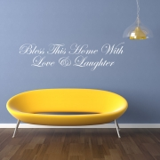 Bless This Home With Love & Laughter