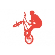 BMX Bike Wall Stickers - Kids