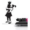 Graffiti Style Bomber Girl