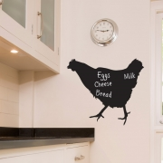 Chalkboard Wall Stickers - Chicken