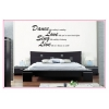 Dance, Love, Sing Wall Sticker - Wall Quotes