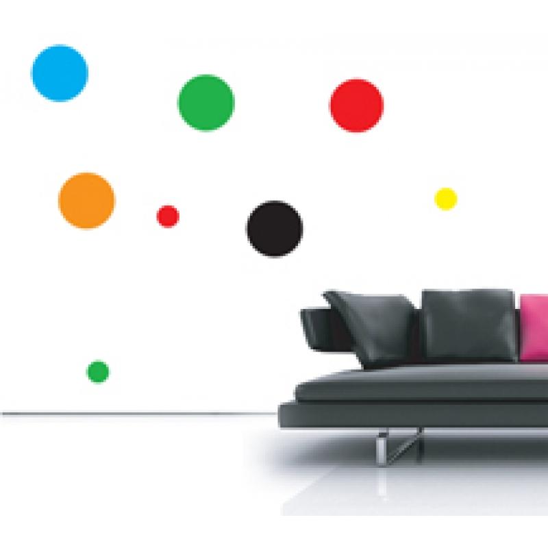 polka dots wall stickers nursery wall stickers colorful polka dots wall decal