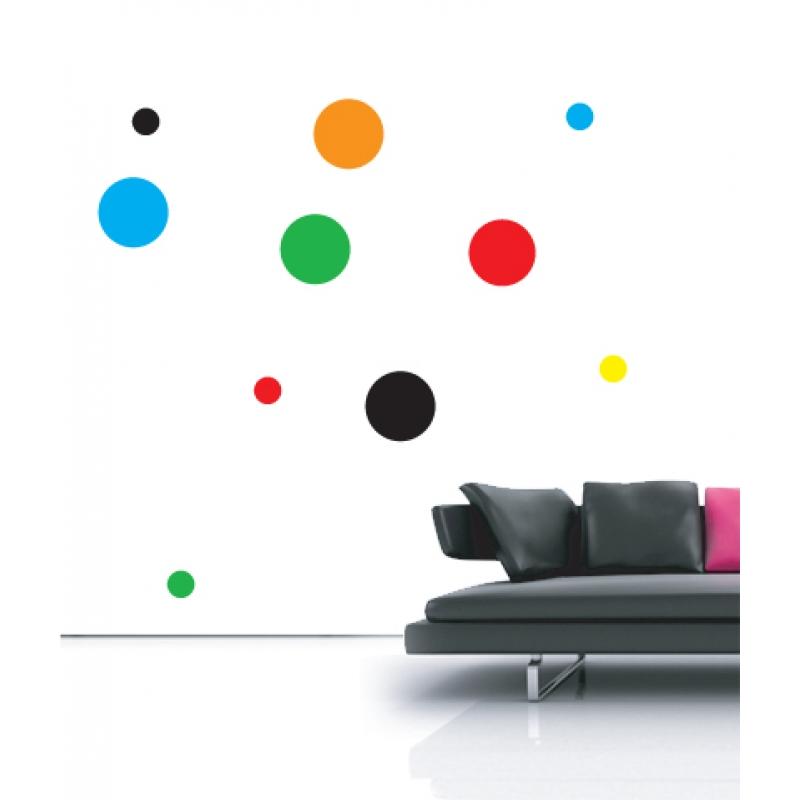 polka dots wall stickers nursery wall stickers wall pattern decals wall pattern stickers from