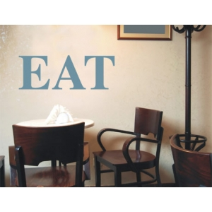 Eat Wall Sticker - Wall Quotes