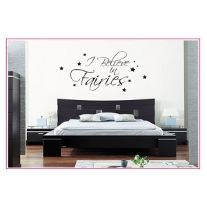 I Believe In Fairies Wall Sticker - Wall Quotes
