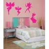 Fairies Pack of 4 Wall Stickers - Kids