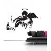 Banksy Fallen Angel Wall Stickers