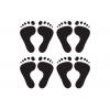 Footprints Wall Stickers - Kids