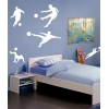 Footballers - Pack of 8 Wall Stickers - Kids