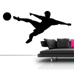 Football Player Sprite Wall Stickers - Kids
