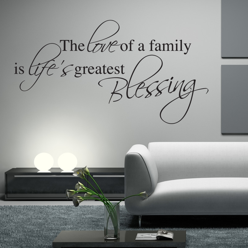 family blessing wall sticker wall quotes wall stickers 25 best family wall quotes on pinterest word wall decor