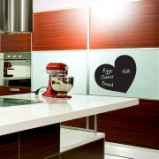 Chalkboard Wall Stickers - Heart