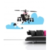 Happy Apache Banksy Wall Sticker