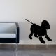 Robot Dog Wall Sticker