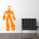 Space Man Wall Art Sticker