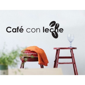 Cafe Con Leche Wall Sticker - Kitchen