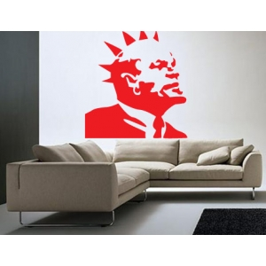 Banksy Lenin Wall Sticker