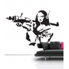 Banksy Mona LIsa Wall Decal