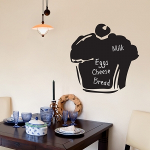 Chalkboard Wall Stickers - Muffin