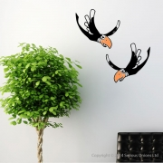 Parrots Wall Sticker