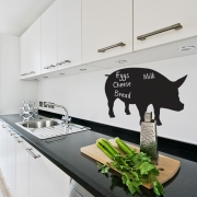 Chalkboard Wall Stickers - Pig