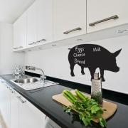 Chalkboard Wall Stickers - Pig