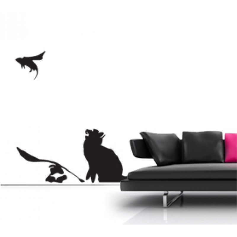 banksy cat and mouse wall sticker wall stickers go to bed rat banksy wall sticker wall stickers