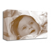 Sepia Photo On Canvas