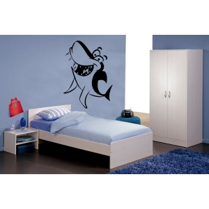 Smiling Shark Wall Stickers - Kids