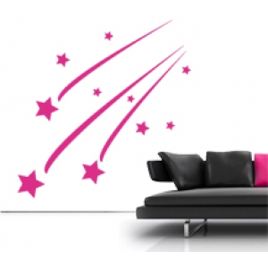 Shooting Stars Wall Stickers - Kids