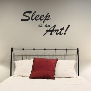 Sleep Is An Art