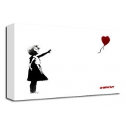 Balloon Girl White - Banksy