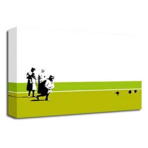 Bowling Bombs (Green) - Banksy