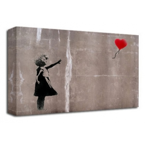 Balloon Girl 2 - Banksy