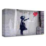 Balloon Girl 3 - Banksy