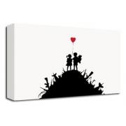 Gun Stack - Banksy