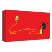 Monkey Detonator (Red) - Banksy