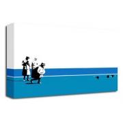 Bowling Bombs (Blue) - Banksy